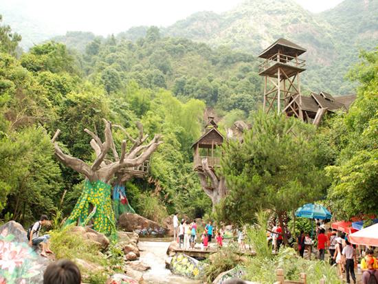 广州从化都喜泰丽温泉度假酒店度假村内景