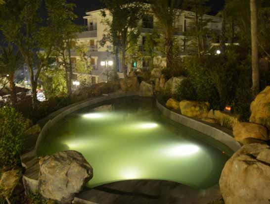 增城三英温泉度假酒店温泉夜景